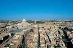 Vatican City, capital of a Spiritual realm