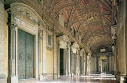 The Atrium of St. Peter's Basilica