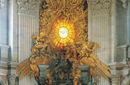 Cathedra of St. Peter in Glory in St.Peter's Basilica