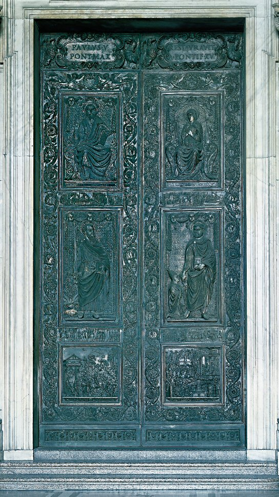 The Holy Door of St. Peter's Basilica - www.visit-vatican-city.com