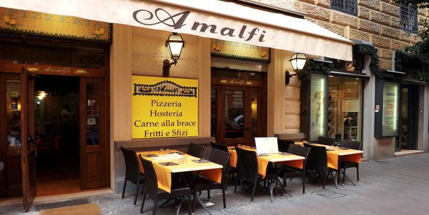 Pizzeria Amalfi Restaurant - Vatican City