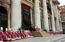 The Sacred College of Cardinals in St.Peter's Basilica