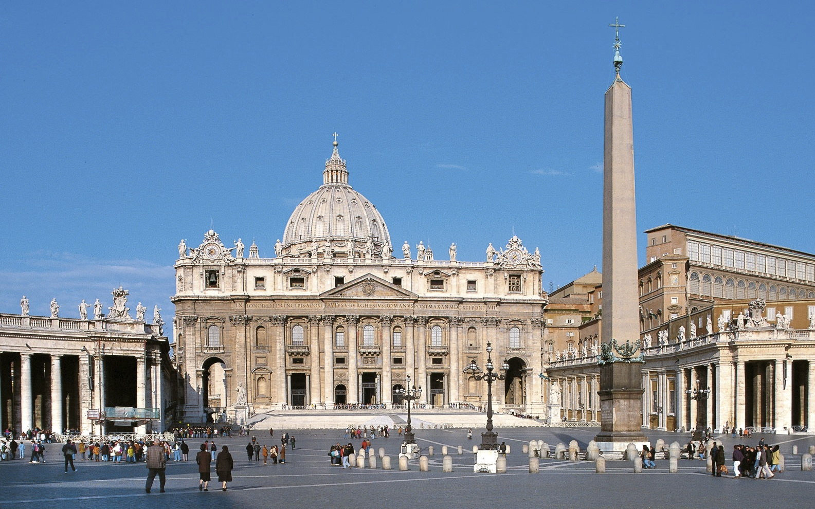 St.Peter's Basilica with Obelisque