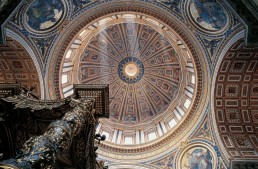 The Cupola in St. Peter's Basilica – Interior view