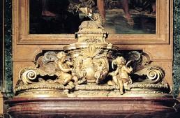 Baptismal font by Carlo Fontana – St. Peter's Basilica