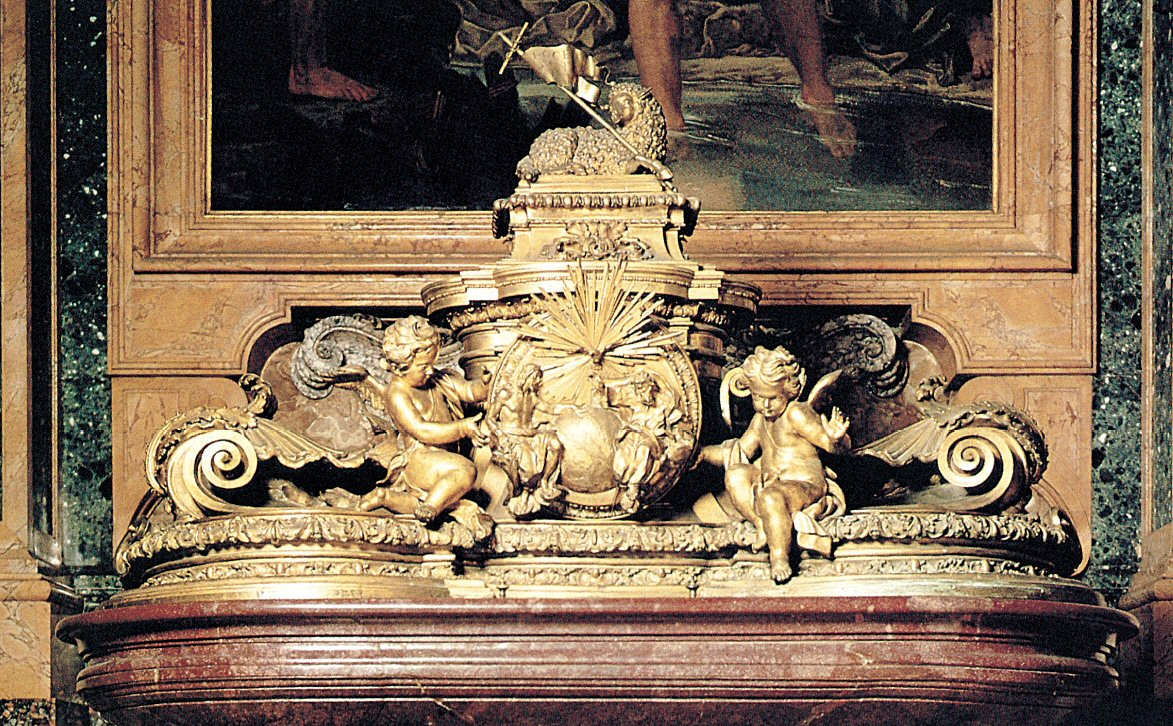 Baptismal font by Carlo Fontana - St.Peters Basilica - Vatican City