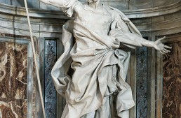 Four expressive Baroque statues – St. Peter's Basilica