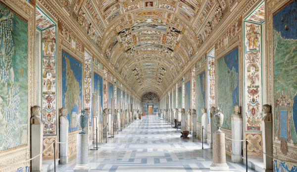 Vatican Museums - Gallery of Maps